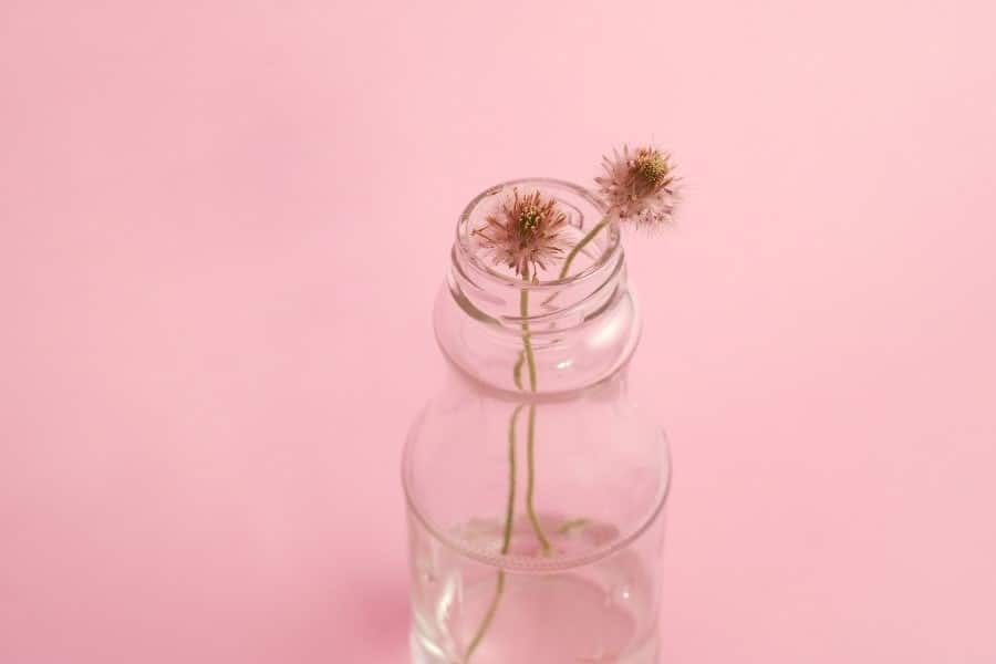 Small Container Jar for Rose Water