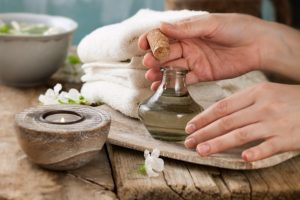 Essential oil products work for the health of the body and mind.